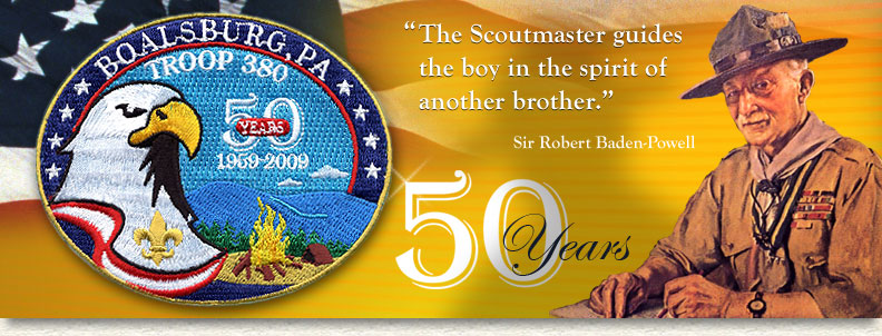Boy Scout Troop 380 main page image.